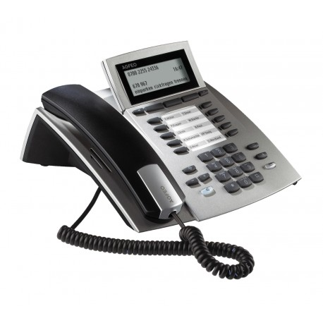 AGFEO ST 42 AB silber Systemtelefon