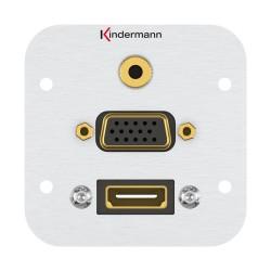 Kindermann HDMI, VGA, Stereoklinke