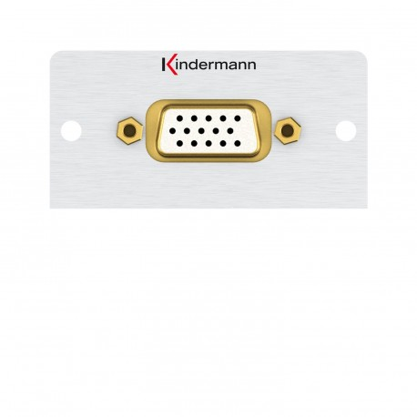 Kindermann VGA, Gender Changer 50 x 50 mm