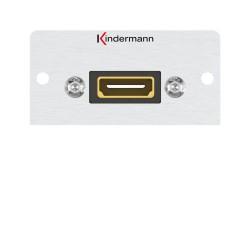 Kindermann HDMI, Kabelpeitsche 50 x 50 mm