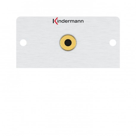 Kindermann Audio Klinke 3,5 mm 50 x 50 mm