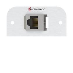 Kindermann Konnect alu 54 - Cat-6a (RJ45)