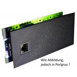 AGFEO Modulfrontplatte LAN-Modul 508 / S2M-Modul 500 perlgrau