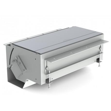 Kindermann CablePort flex 6-fach, Aluminium