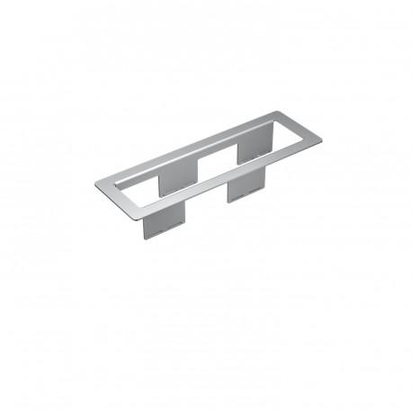 Kindermann CablePort frame 4-fach - Alu eloxiert