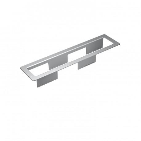 Kindermann CablePort frame 6-fach, Aluminium