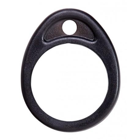 ekey net RFID FOB rund schwarz - Schlüsselanhänger