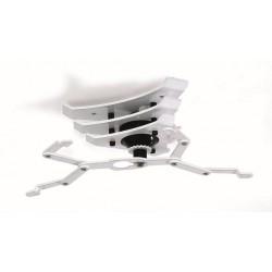 Peta Designhome Deckenhalterung, Edelstahl, 40-70 cm, weiß