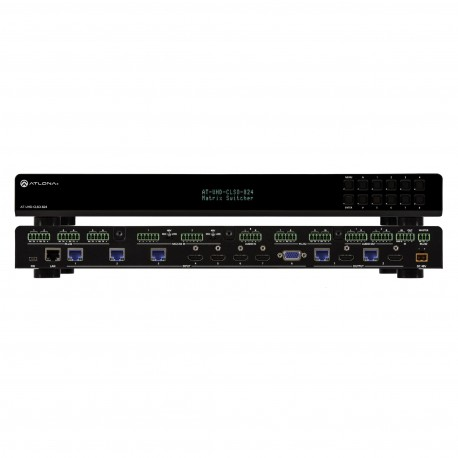 AT-UHD-CLSO-824 (PoE) Multiformat Matrix, 8 X 2