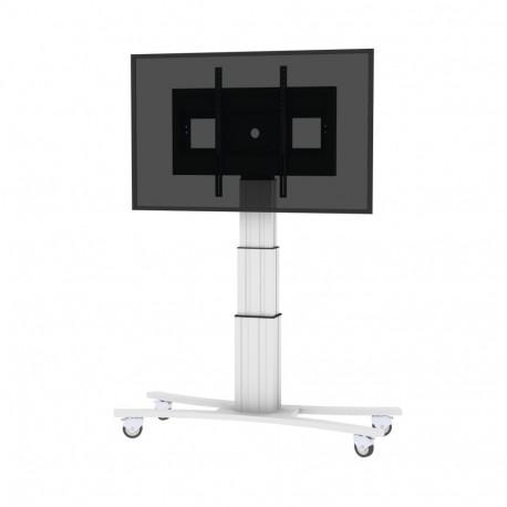 Monitorwagen mit Fahrgestell - elektrisch höhenverstellbar