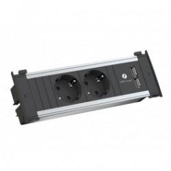 Bachmann KAPSA 2x Strom, 1x USB Charger GST18
