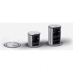 Bachmann ELEVATOR 2x Strom, Edelstahl-Optik
