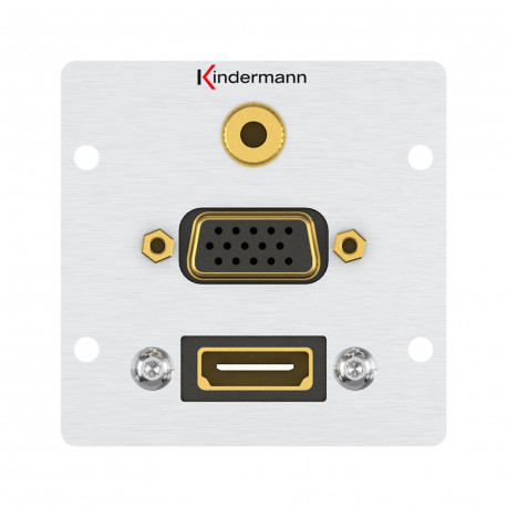 Konnect 50 alu - HDMI, VGA, Audio