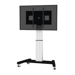 Monitorsäule SCETA-W. elektrisch höhenverstellbare Pylone