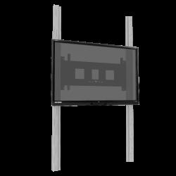 """Elektrisch höhenverstellbares 2-Säulen-Pylonensystem für 65"""" - 86"""" Display"""