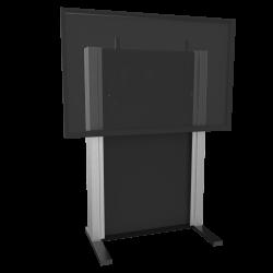 """freistehende, manuell höhenverstellbare Gegengewichtssystem für Displays von 65"""" bis 86"""""""