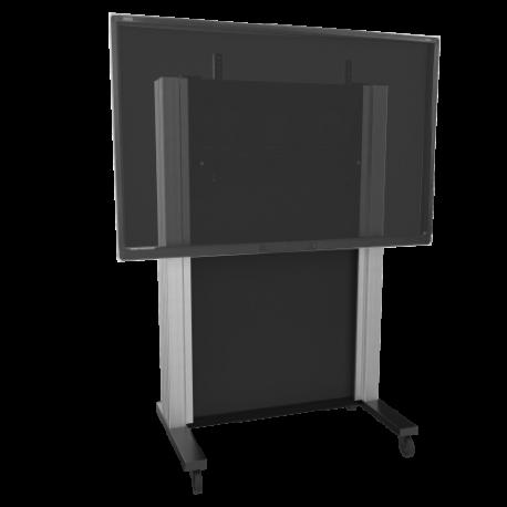 """Fahrbares, manuell höhenverstellbares Gegengewichtssystem für Displays von 65"""" bis 86"""""""
